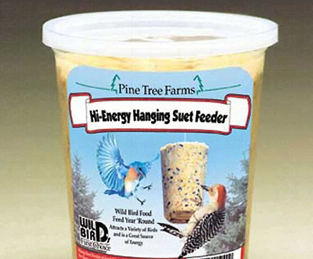hanging suet bird food